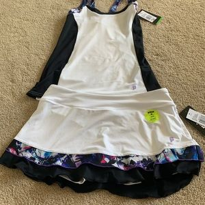 Female Puma tennis outfit